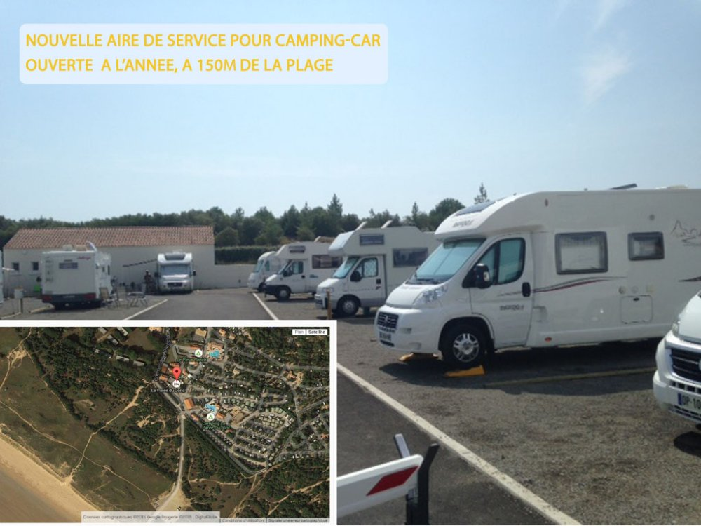 Aire camping-car à Saint-Jean-de-Monts (85160) - Photo 2